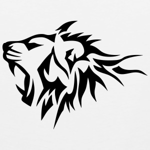 D bardeurs tatouage tribal spreadshirt - Dessin de lion facile a faire ...