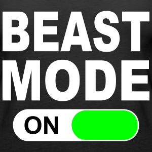 BEAST MODE ON Tops - Women's Premium Tank Top