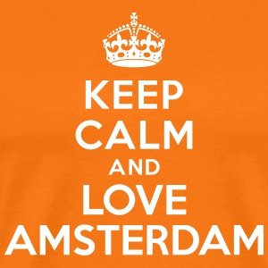 Keep calm and Love Amsterdam Tee shirts - T-shirt Premium Homme