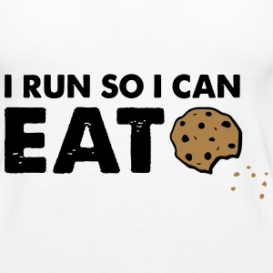 Eat Cookies Tops - Women's Premium Tank Top