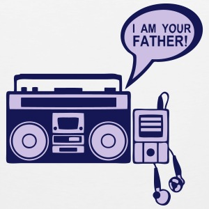 i_am_your_father K7 mp3-Radio-Player 0 Sportbekleidung - Männer Premium Tank Top