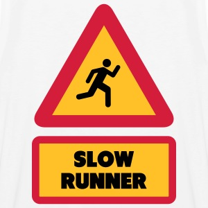 Slow Runner T-shirts - Mannen Premium tank top