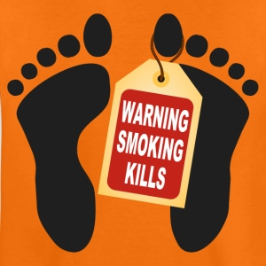 warning smoking kills T-Shirts - Teenager Premium T-Shirt