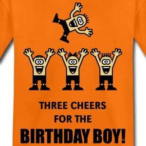 Three Cheers For The Birthday Boy! (3C) Shirts - Teenage Premium T-Shirt