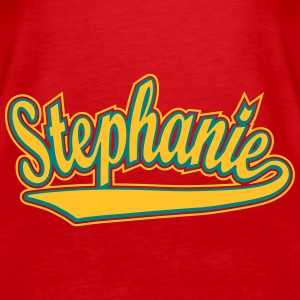 Stephanie - T-shirt personalised with your name Tops - Women's Premium Tank Top