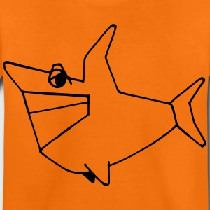 smiling shark - Kinder Premium T-Shirt