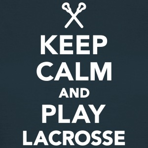 Keep calm and play Lacrosse T-Shirts - Frauen T-Shirt