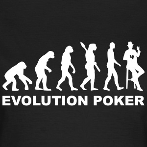 Evolution Poker T-Shirts - Frauen T-Shirt