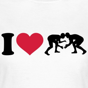 I love Ringen T-Shirts - Frauen T-Shirt