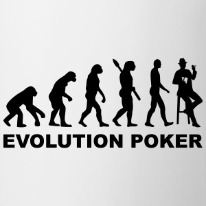 Evolution Poker Flaschen & Tassen - Tasse