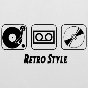 Retro style Bags & Backpacks - Tote Bag