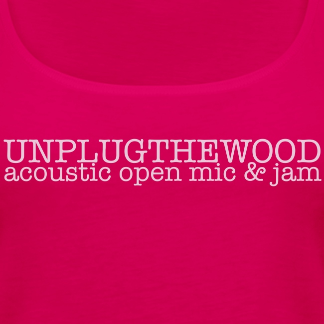 Unplug The Wood Top - ladies 2