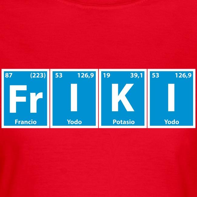 "Camiseta chica ""Frikímico"""
