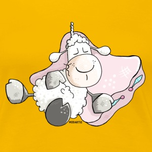 Dreamy Sheep - Lamb T-Shirts - Women's Premium T-Shirt