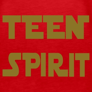 Rot TEEN SPIRIT by COPYTHAT23 Girlie - Frauen Premium Tank Top