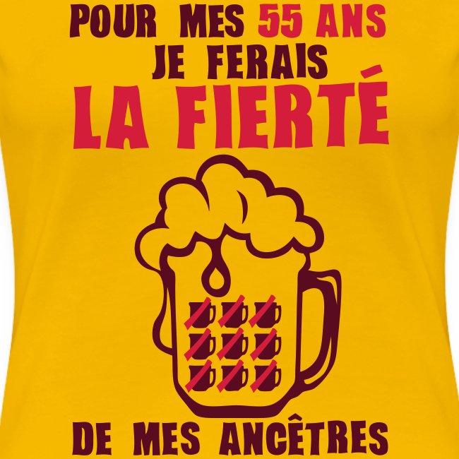 Tee Shirt Anniversaire Humour Alcool De 18 20 25 30 35 40 Jusqu