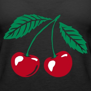 Black cherry Ladies' - Women's Premium Tank Top