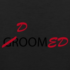 Olive Groom / Doomed (wedding, groom, groom to be, stag  party, honeymoon) T-Shirts - Men's Premium Tank Top