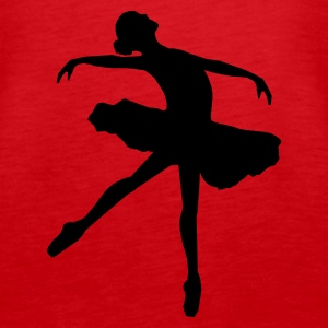 ballet girl - Women's Premium Tank Top