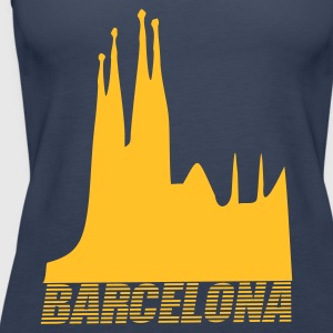 Petrol Barcelona - Spain Tops - Women's Premium Tank Top