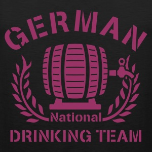 Schwarz ::GERMAN N-DRINKING TEAM:: T-Shirts (Kurzarm) - Männer Premium Tank Top