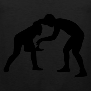 Olive Wrestling - Fight Men's Tees (short-sleeved) - Men's Premium Tank Top