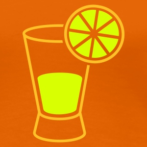 Orange drink_tequila T-Shirts - Frauen Premium T-Shirt