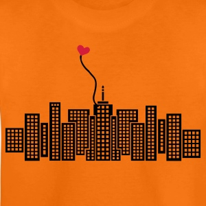 Orange City in Love with heart Kid's Shirts  - Teenage Premium T-Shirt