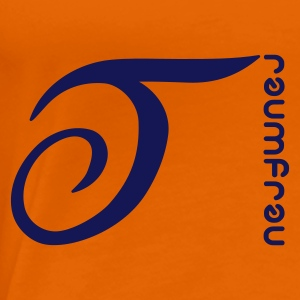 Orange Traumfrau T-Shirts - Frauen Premium T-Shirt