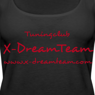 Motiv ~ Frauen-Top X-DreamTeam