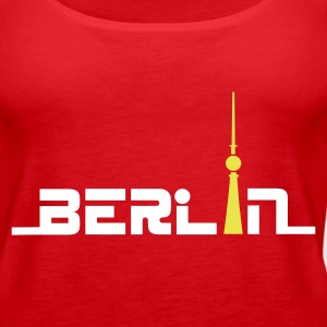 Rot berlin1 Tops - Frauen Premium Tank Top