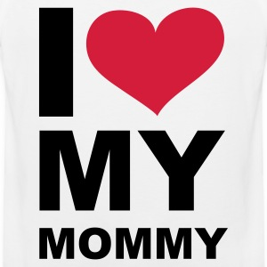 Weiß I love my mommy - eushirt.com T-Shirts - Männer Premium Tank Top