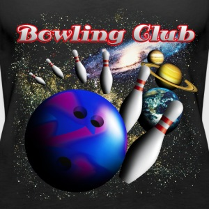 bowling_space_a Topper - Premium singlet for kvinner