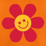 Motiv ~ Happy Flower - Kinder T Shirt klassisch