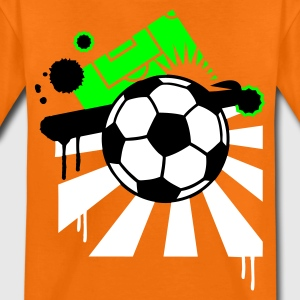 Orange Football design T-shirts Enfants - T-shirt Premium Ado