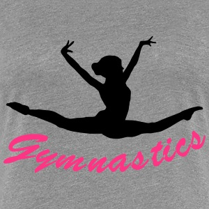 Turnen, Gymnastik, Turner T-Shirts - Frauen Premium T-Shirt