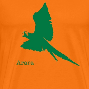 Ara greensp/orange - Männer Premium T-Shirt