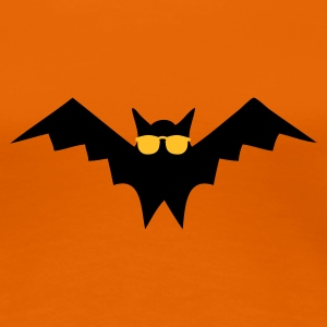 Guldorange Blind as a Bat T-shirts - Premium-T-shirt dam