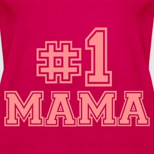 Pink Mama - Mutter Tops - Frauen Premium Tank Top