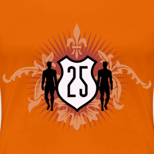 Golden orange jubilaeum_b_25 Women's T-Shirts - Women's Premium T-Shirt