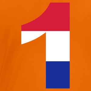 Orange 1 - Netherlands Flag - eushirt.com T-Shirts - Camiseta premium mujer