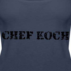 Türkis Chef Koch Tops - Frauen Premium Tank Top