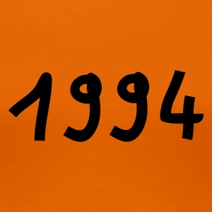 Orange 1994 T-Shirts - Frauen Premium T-Shirt