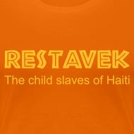 Motiv ~ T-Shirt Frau Restavek 01 © by kally ART®