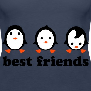 Türkis best friends Tops - Frauen Premium Tank Top