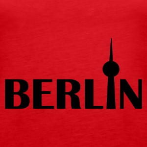 Rot Berlin Tops - Frauen Premium Tank Top