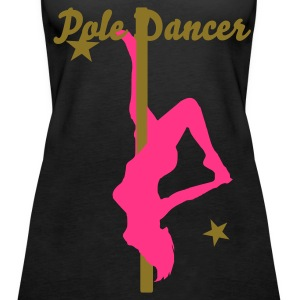 Sex Poledancer Stripper  Lapdance  - Frauen Premium Tank Top
