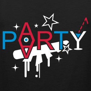 Oliv Party mit Cocktail T-Shirts - Männer Premium Tank Top