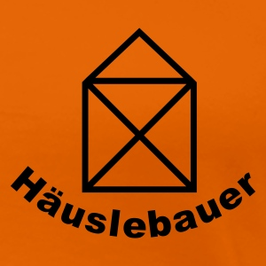 Orange häuslebauer T-Shirts - Frauen Premium T-Shirt