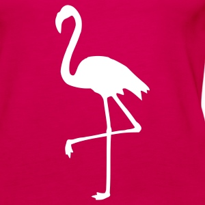 Pink Flamingo Tops - Frauen Premium Tank Top